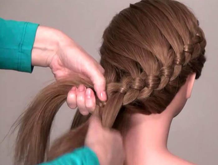 Плетение кос фото мастер класс