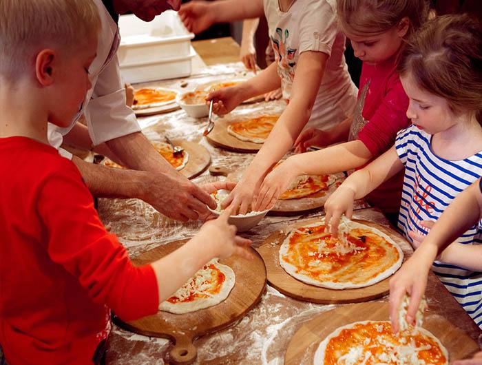 Мастер класс для детей по приготовлению пиццы